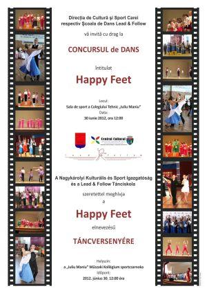 Concurs de dans Happy Feet
