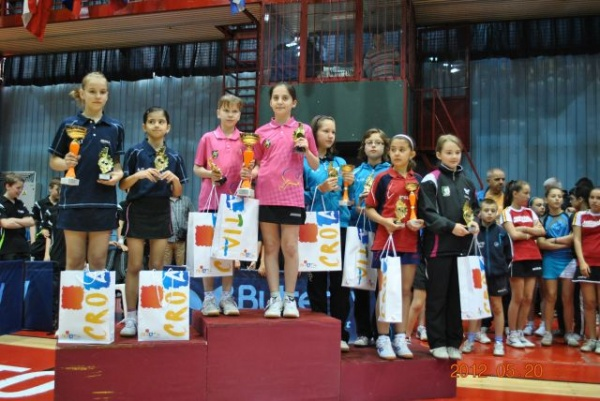 Tenis de masă: argint la Zagreb pentru Kitty