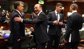 Traian Băsescu,susţinut de Viktor Orban