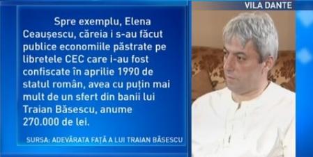 Suspendatul, mai bogat ca Elena Ceauşescu