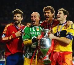 EURO 2012: Victoria Spaniei