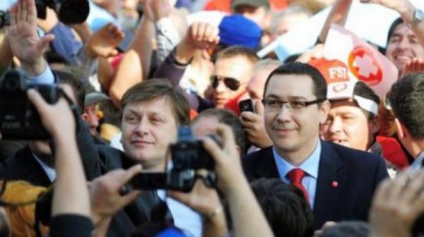 Ponta: România a fost distrusă de Băsescu.1,2 miliarde plus la buget fără Băsescu