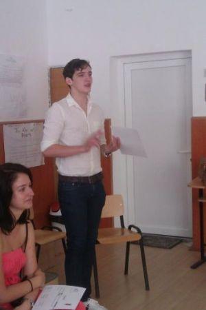 Consiliul Şcolar al Elevilor Liceului Teoretic Carei apreciat la Cluj