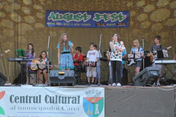 AugustFest5: Gala cântecului careiean