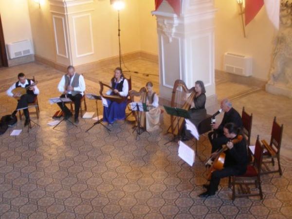 Muzică medievală la Castel