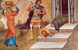 Zi de Post! Tăierea capului Sfântului Ioan Botezatorul