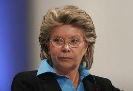 România a devenit colonia penitenciară a doamnei Viviane Reding