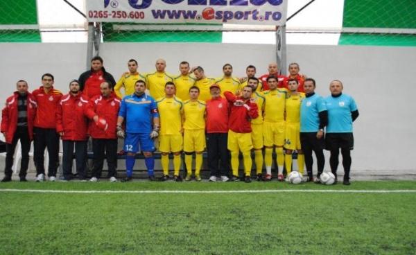 Minifotbal: Tricolorii, cu gândul  la un nou titlu european