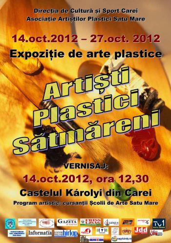 Expozitie de arte plastice la Castel