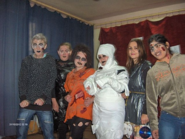 Hallowen Party la Liceul Simion Bărnuţiu