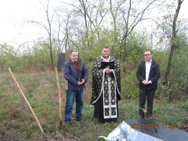 Victimă neidentificată înmormântată în Ghenci
