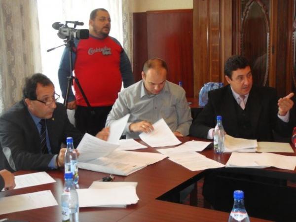Ultima şedinţă de consiliu din 2012