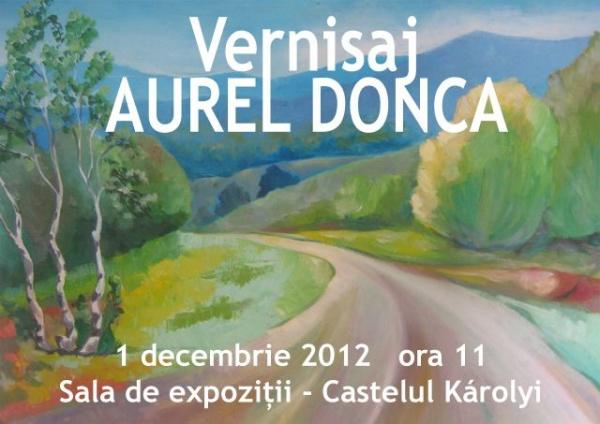 Expoziţie de pictură Aurel Donca