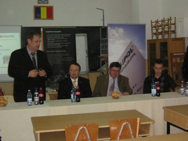 """Formarea profesională a elevilor Liceului Tehnologic """"Simion Bărnuțiu"""""""
