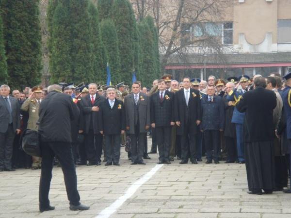 Crin Antonescu şi Victor Ponta la Satu Mare