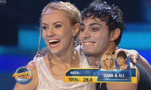 """Careieanul Ali şi Oana sunt primii clasaţi la """"Dansez pentru Tine"""""""