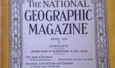 O călătorie cu National Geographic prin România anului 1934