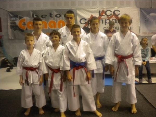 Karateka  din Carei la Campionatul Naţional Şcolar
