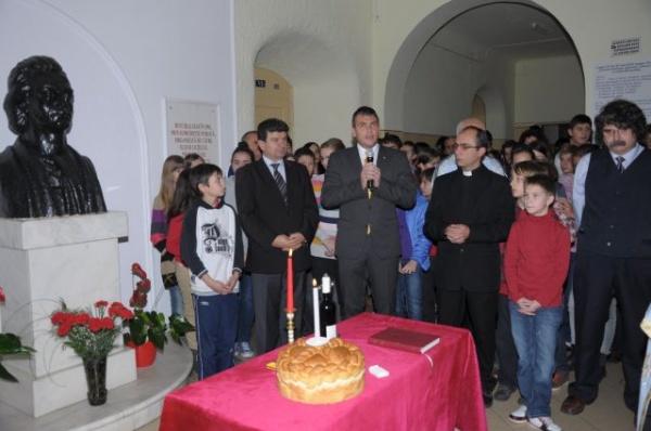 Preşedintele CJ la sărbătoarea Sf.Mihail