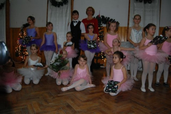 Spectacol de balet la Modefit Studio