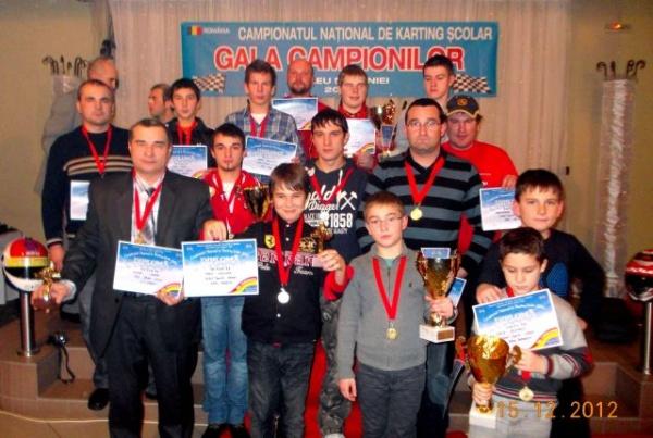 Karting: Gala Campionilor 2012