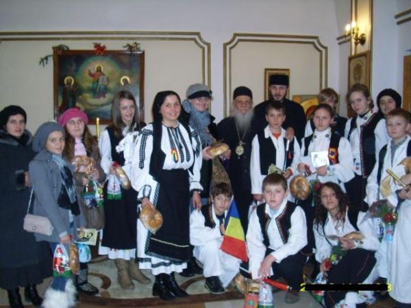 Colindători –vestitori de sărbători la Palatul Episcopal din Baia Mare