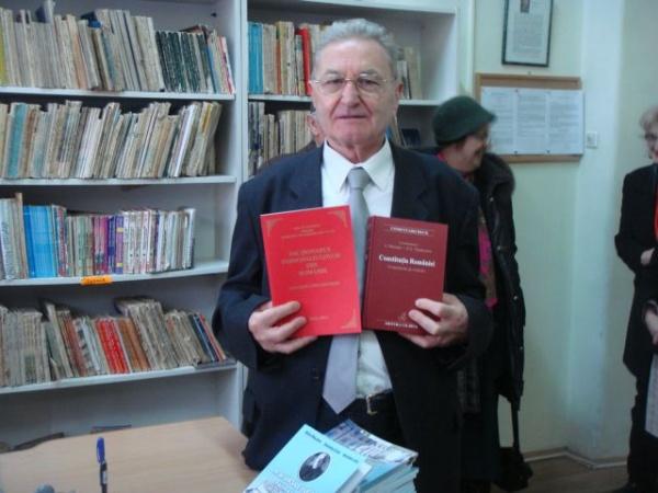 Donaţie de carte la Biblioteca Municipală  Carei