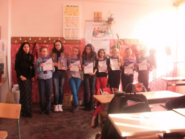 EuroJunior la Şcoala Gimnazială nr.3