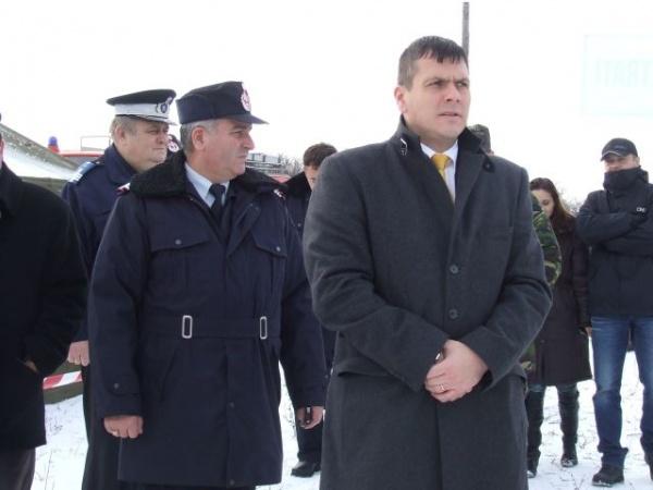 ISU în acţiune la barajul Călineşti