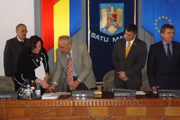Consiliul Județean Satu Mare are trei consilieri noi