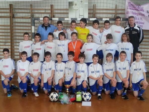 Fotbal:Cupa  Kolcsey in Ungaria