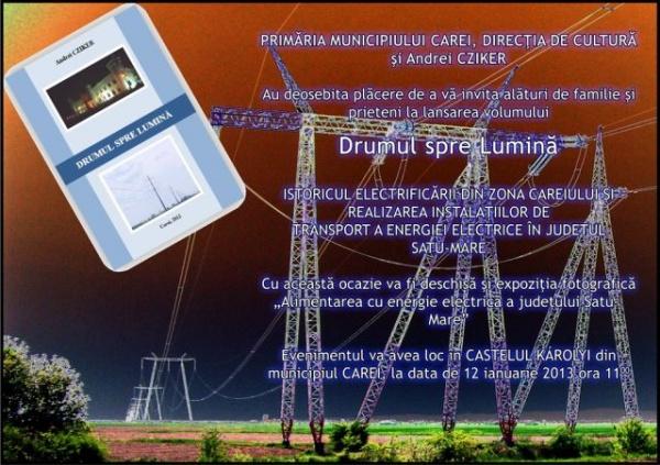 Istoricul electrificării din zona Careiului