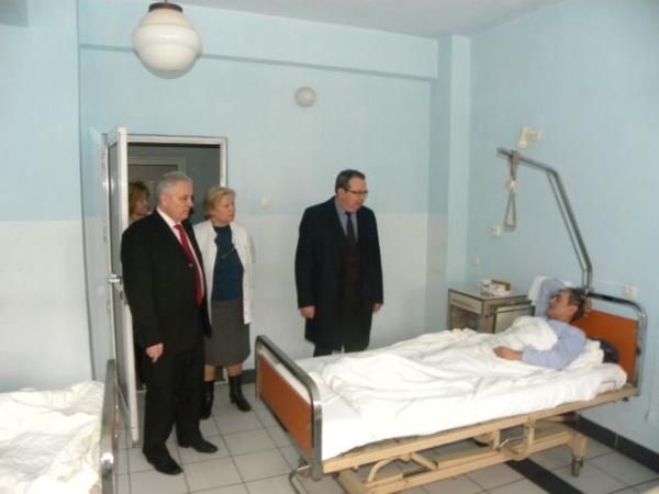 Vizită inopinată la Spitalul Municipal Carei