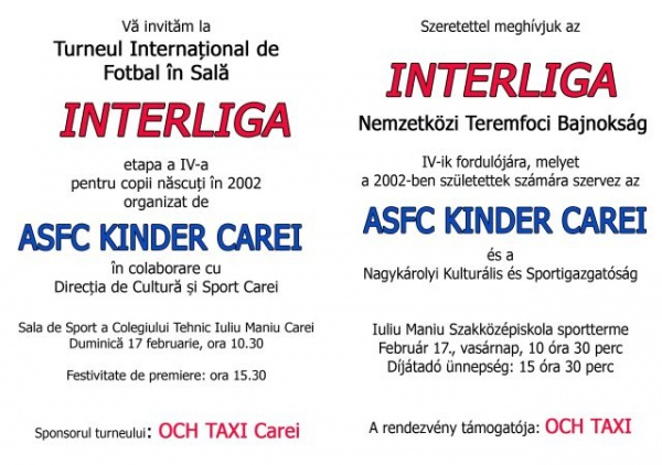 Fotbal:Interliga la Carei
