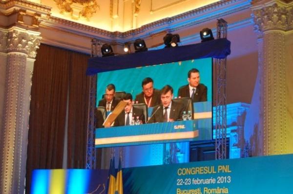 Delegaţie sătmăreană la Congresul PNL de la Bucureşti