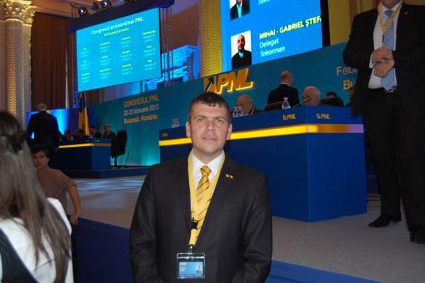 Adrian Ştef şi Ovidiu Silaghi fac parte din Biroul Permanent Naţional PNL