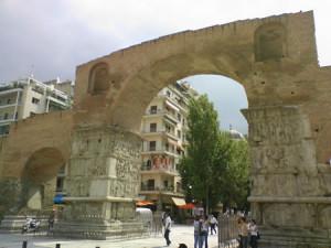 Arcul de triumf ridicat de Galerius in Salonic, un monument al gloriei dacice
