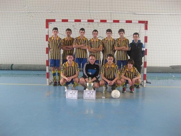Fotbal:Echipa Liceului Teoretic s-a calificat pentru etapa naţională