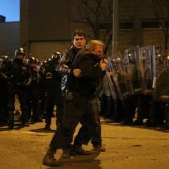 Incidente grave la Budapesta după meciul Ungaria – România