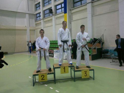 Jandarm sătmărean ,vicecampion la karate