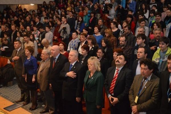 Festivitatea de deschidere a Olimpiadei Naţionale de Fizică-Satu Mare 2013