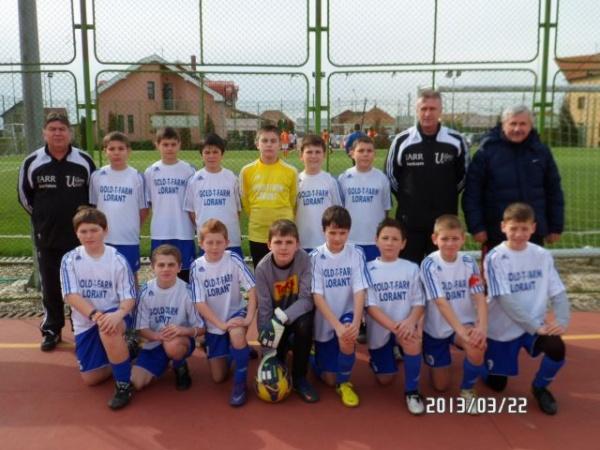 Juniorii de la Victoria Carei se califică la faza zonală a Cupei Hagi Danone