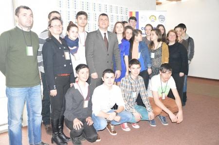 Sedinţa de închidere a Conferinţei Consiliului Regional al Elevilor
