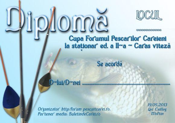 Înscrieri pentru Cupa Forumul Pescarilor Careieni