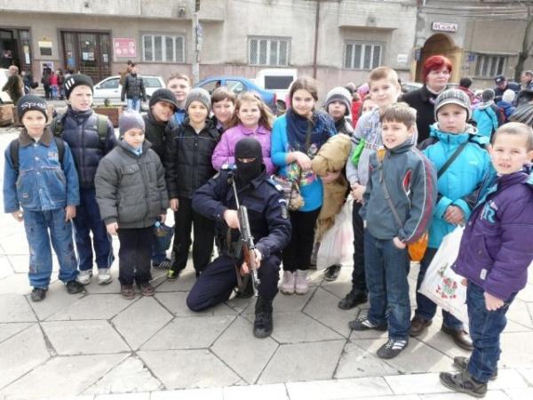 Activităţi  educative la Jandarmeria Satu Mare