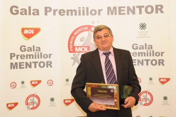 Prof.Ioan Mărneanu-premiul Mentor pentru Excelență în Educație
