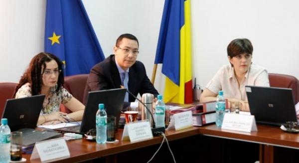 Victor Ponta o propune pe Laura Codruţa Kovesi la şefia DNA