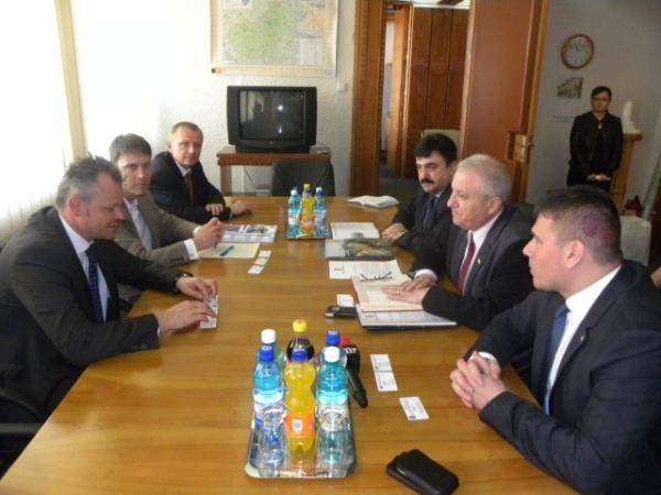 Conducerea Camerei de Comerţ şi Industrie Româno-Germană va sprijini promovarea judeţului Satu Mare în mediul de afaceri din Germania