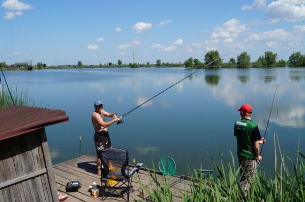 Peste 80kg de peşte prins la concursul de duminică
