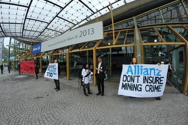 """Allianz nu """"girează"""" proiectele de la Roşia Montană"""